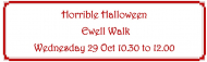 Horrible Halloween - #Ewell Day Walk #BourneHall #Halloween