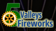 Five Valleys Firework Display 2014