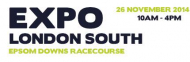 EXPO London South at Epsom Racecourse @exposure_events #epsom #expo