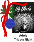 Hear the Skyfall this #Christmas with Adele Tribute @LaPerlaKW