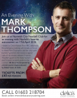 An Evening with Mark Thompson at Yellows in Norwich