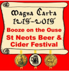 Booze on The Ouse Beer Festival 13th - 15th March 2014