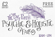 Psychic & Holistic Fair in Chessington @purpleskyevents