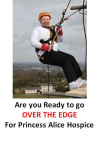 Over The Edge Abseil at Epsom Racecourse for @PAHospice