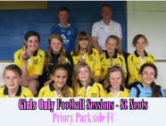 Girls Only Football Session St Neots - Priory Parkside Football Club - Priory Park