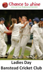 Ladies Day at Banstead CC – Women & Girls Cricket - @surreyladies @womencricket @Banstead_CC @ThisgirlcanUK