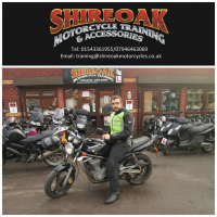 Shireoak Motorcycle Training
