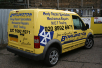 Burlington Garage in Acton, Ealing