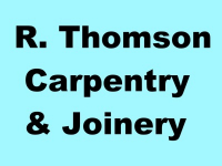 R. Thomson Carpentry and Joinery
