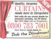 Bob the Blindman's Curtains