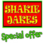 HALF PRICE waffles or pancakes at Shakie Jakes