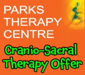20% discount on 1st Cranio-Sacral Therapy treatment