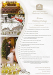 Winter Wedding Package - £3,000