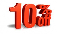 10% off for Students
