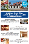 £140 Spa Break Offer