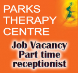 PARKS THERAPY CENTRE ST NEOTS - PART TIME RECEPTIONIST
