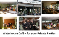 FREE Use of The Waterhouse Café – when booking a Private Event @waterhousecafe