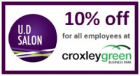 10% off for all employees at Croxley Business Park