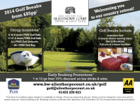 2014 Golf Breaks from £85 per person