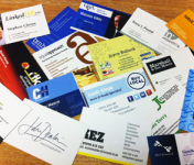 250 Business cards designed, printed & delivered for just £50 + vat