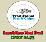 Lunch Time Special Only £2.75