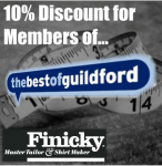 10% Discount for Best of Guildford Members!