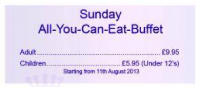 Sunday All-You-Can-Eat-Buffet