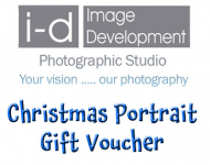 Christmas Family Portrait Gift Voucher - £35 including one print..