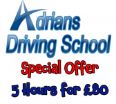 Driving Lessons 5 hours for ONLY £80....