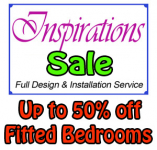 Up to 50% off all fitted bedrooms.