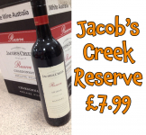 Jacob's Creek Reserve Only £7.99