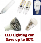 LED Lights Save money on your electricity bills...