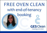 FREE OVEN CLEAN with end-of-tenancy