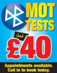 All Makes MOT £40.00