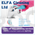 20% off ALL cleaning services!