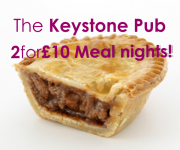The Keystone: 2 for £10 nights!