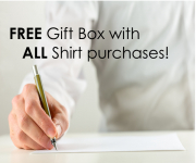 FREE Gift Box with every Shirt Purchase!