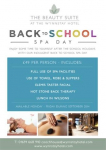Back To School SPA DAY at the Wynnstay