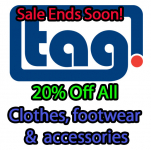 Mid Season Sale - Ends  Soon - 20% Off Clothing, Footwear & Accessories
