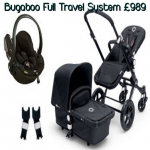 £50 Voucher with Bugaboo or UPPAbaby Travel Systems