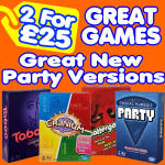 2 for £25 on selected Games