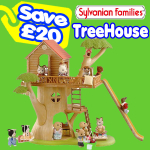 Save £20 on the Sylvanian Treehouse (4618)