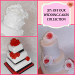 20% off Wedding Cakes  - The Collection