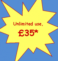 Unlimited Monthly Usage £35!