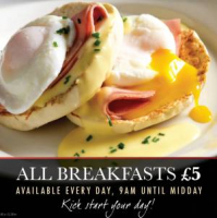 All day breakfast for £5