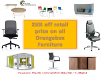 25% OFF Orange Box Furniture