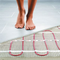 Luxuriate with Free underfloor heating with your new bathroom