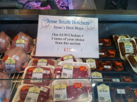 4 Items for £10 at Jesse Smiths Butchers