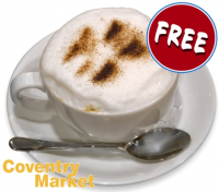 Free Hot Drinks at Coventry Market..!