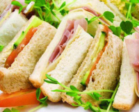 Sandwiches for 6 people only £12.50.